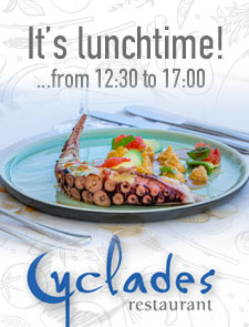 Cyclades lunch
