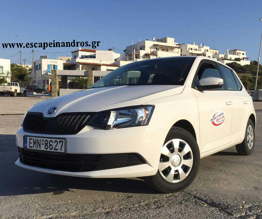 Escape In Andros Rent A Car