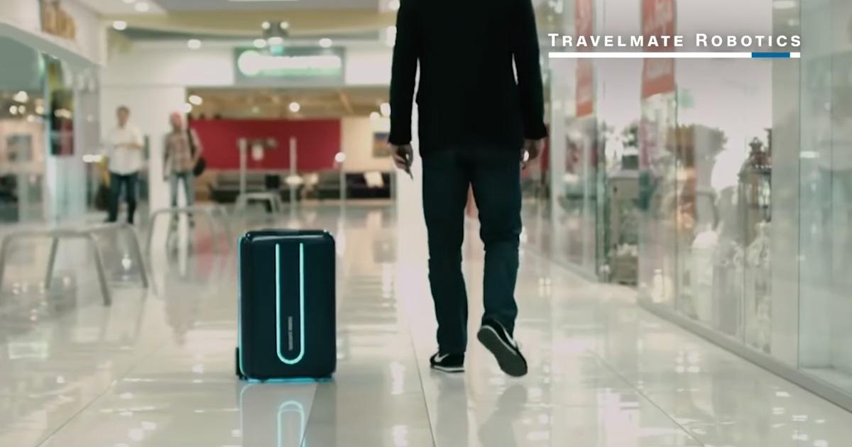 Ταξιδεύεις και σέρνεις βαλίτσα; Όχι πια! (video)